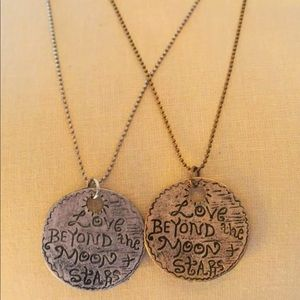 Jewelry - Love BEYOND the Moon & Stars Long Chain Necklace